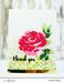 Набор штампов от Altenew - Painted Rose Stamp Set- Роза - ScrapUA.com