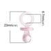 """Акриловая подвеска """"Соска"""", цвет розовый,  23.0мм x 11.0мм, 1 шт. - ScrapUA.com"""