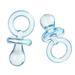 """Акриловая подвеска """"Соска"""", цвет синий, 23.0мм x 11.0мм, 1 шт. - ScrapUA.com"""