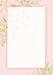 Лист двусторонней скрапбумаги от Galeria Papieru - Jak we snie - JWS II 03  - 10х14,5см, розовый фон - ScrapUA.com
