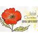 Набор открыток для раскрашивания аква чернилами, акварелью Маки, ТМ Фабрика Декору - ScrapUA.com
