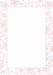 Двусторонняя подложка от Galeria Papieru, 10х14,5см, цвет розовый - KP-01 - ScrapUA.com