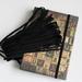 Резинка для блокнота, цвет черный, узкая, эластичная, ширина 3 мм, 1 м - ScrapUA.com