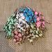 Веточка сакуры, 11,5 см, 5 цветочков, 1 шт. - ScrapUA.com