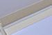Альбом от Светланы Ковтун в класс. переплете с ткан. покрытием, лен комбинир. гориз. пес.-серый гор. и молочный, 15х15 см, 5 разворотов, расст. 7 мм - ScrapUA.com