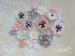 Набор цветов Blanda Розово-серый микс, ТМ Iris, 17 шт - ScrapUA.com