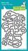 Штампы и ножи от Lawn Fawn - Mermaid for You, 27 шт. + 19 шт. - ScrapUA.com