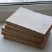 Блок для блокнота А6 состаренный, с запахом ванили, 100 листов - ScrapUA.com