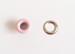 """Набор люверсов с кольцом от ScrapEgo - """"Розовый матовый"""", 30 шт. - ScrapUA.com"""