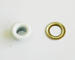 """Набор люверсов с кольцом от ScrapEgo - """"Белый"""", 30 шт - ScrapUA.com"""