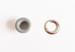 """Набор люверсов с кольцом от ScrapEgo - """"Серый"""", 30 шт. - ScrapUA.com"""