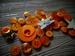 """Набор пуговиц и декора от ScrapEgo - """"Оранжевый микс"""", 30 элементов. - ScrapUA.com"""