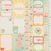 Лист двусторонней бумаги от Echo Park Journaling Cards, 30x30 см - ScrapUA.com
