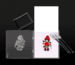 Инструмент с разметкой для штампинга - Stamping Tool, 16x16 см - ScrapUA.com