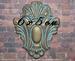 Гипсовый декор под окисленный метал от Е.В.А,  6х5 см - ScrapUA.com