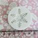 Силиконовые формы (молды) - Снежинки