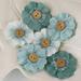 Цветы из ткани и фетра